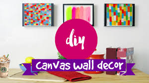 Diy Paintings For Home Decor Diy Wall Art 2 Supereasy U0026 Simple Canvas Ideas Youtube