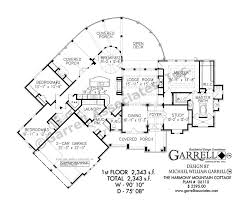 cottage floorplans harmony mountain cottage house plan house plans by garrell