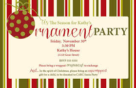 ornament exchange invitation wording futureclim info
