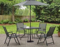 furniture sets easy patio furniture patio chair cushions in 6
