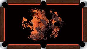 Felt Pool Table by Vivid Grunge Skull 7 U0027 8 U0027 Pool Table Felt Billiard Cloth