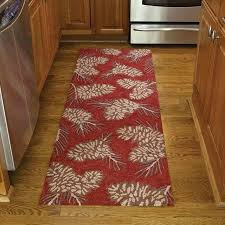 Country Hooked Rugs Pinecone Hooked Rug Runner By Park Designs