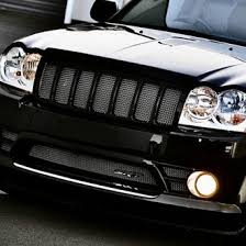 jeep srt8 grill 2009 jeep grand custom grilles billet mesh led