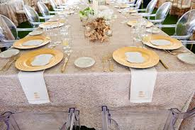 wedding linens gold glitter linens archives southern weddings