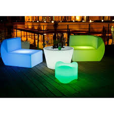 illuminati led glow coffee table led furniture