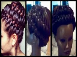 sew in updo hairstyles for prom universal sew in weave never ending braid updo prom 2014 youtube