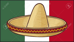 Picture Of Mexican Flag Mexico Flag Sombrero Mexican Hat Royalty Free Cliparts Vectors