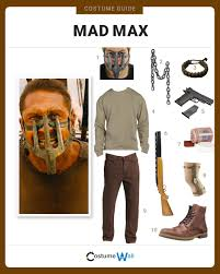 mad max costume dress like mad max costume and guides