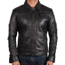 bike jackets online men u0027s leather biker jackets online brandslock uk brandslock