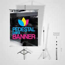 Common KIT PROMOCIONAL Pedestal 1,80 m + Banner 90 x 120 cm #GG72