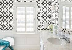 designer bathroom wallpaper modern bathroom wallpaper 20 best farmhouse bathrooms to get that