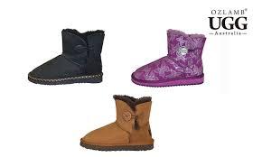 ugg boots australia groupon ozlamb button ugg boots groupon goods