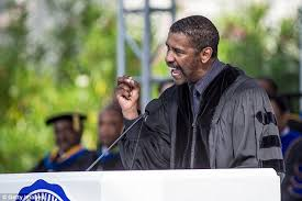 Denzel Washington Training Day Meme - denzel washington encourages college grads not to focus on material