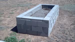 Bed Pit Decor Alluring Lowes Cinder Blocks For Captivating Outdoor