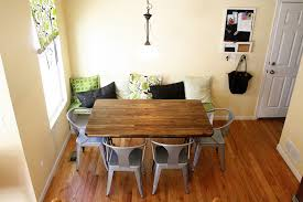 Small Breakfast Table by Handsome Picture Of Dining Room Decoration Using L Shape Dark