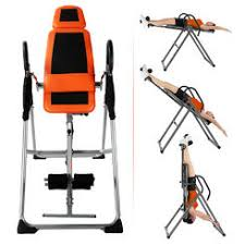 inversion table for lower back pain elite fitness deluxe inversion table with padded back rest