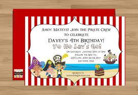 jake and the neverland pirates diy invitations