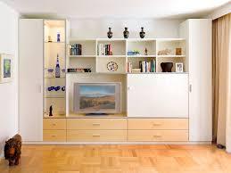 Wohnzimmerschrank Reduziert Wohnwand Mit Integriertem Kleiderschrank Home Design Und Möbel