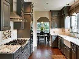 Dark Walnut Kitchen Cabinets by Kitchen Designs With Dark Cabinets Brown Walnut Portable Island