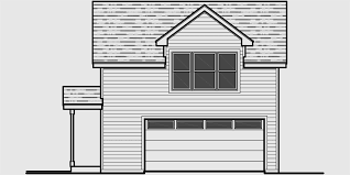 hillside garage plans garage floor plans one two three car garages studio garage plans