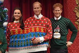 madame tussauds decked out royal family in ugly christmas