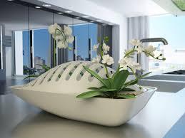 objet cuisine design urba actu fluidity un égouttoir qui arrose vos herbes de