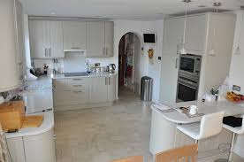 Howdens Kitchen Design Howdens Burford Grey With Light Surfaces And Floor Too Wishy