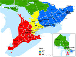The Map Of Canada by Map Of Ontario Map Of Ontario Counties And Regions Click The