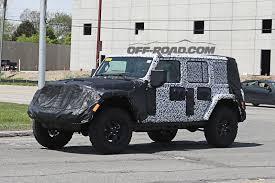 2018 jeep wrangler pickup name 2018 jeep wrangler interior spied off road com blog