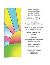 retirement party invitation template u2013 gangcraft net