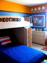 Cute Bedroom Ideas With Bunk Beds I Like The Way The Bed Says Brothers Very Cute Home Sweet Home