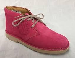 s clarks desert boots nz bnib baby clarks originals pink suede desert boots g fitting