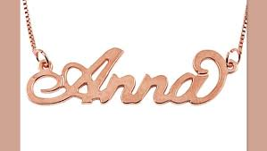 Best Name Necklace Name Necklaces Make Great New Mommy Gifts Greatgets Com
