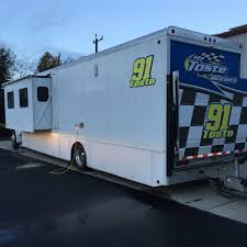 travel trailer with garage off road classifieds 2003 show hauler motor home with garage and