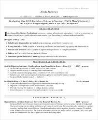 Sample Student Nurse Resume by Sample Nurse Resumes Formats Csat Co