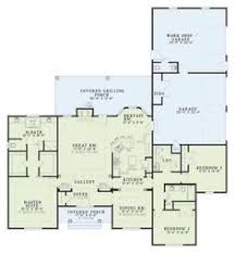 ranch house plan 94182 total living area 1720 sq ft 3