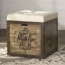 Ottoman Cubes Lark Manor Bissonette Cube Ottoman Reviews Wayfair