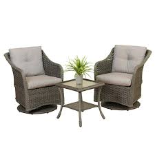 Swivel Wicker Patio Furniture by Stein U0027s Garden U0026 Home The Gerson Company Wicker Swivel Glider Set