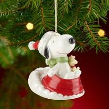 snoopy s nest ornament by lenox snoopy wish list