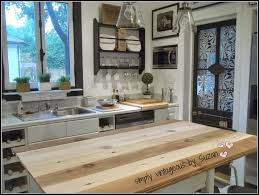 simply vintageous by suzan adding planks to a kitchen table
