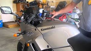 2007 kawasaki ninja 250r cam chain tensioner cleaning result youtube