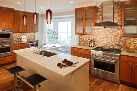 kitchen with tile backsplash 9 trendy kitchen tile backsplash ideas porch advice