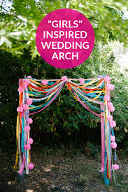 wedding arches on a budget make this inspired wedding arch practical wedding