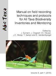 eymann et al ed 2010 manual on field recording techniques and