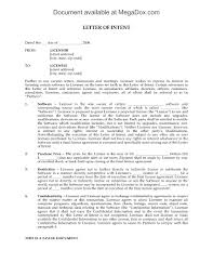Contractor Letter Of Intent Template by Letter Of Intent To Grant Perpetual Software License Legal Forms