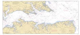 Nautical Maps Potomac River Smith Point Va To Breton Bay Md Nautical Chart