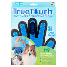 How To Remove Cat Hair From Clothes True Touch Pet The Hair Away Animal Brush Five Finger Deshedding