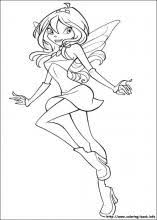 winx club coloring pages on coloring book info