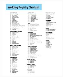 the best wedding registry wedding registry checklist printable contemporary vision