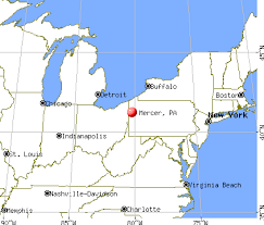 mercer map mercer pennsylvania pa 16137 profile population maps